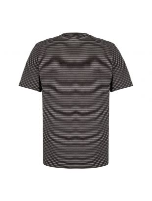 T-Shirt Stripe - Black / White / Grey