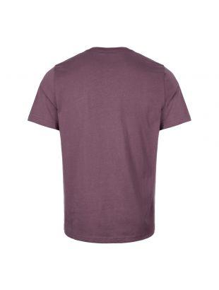 T-Shirt Zebra Logo - Aubergine