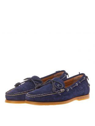 Millard Boat Shoes - Navy