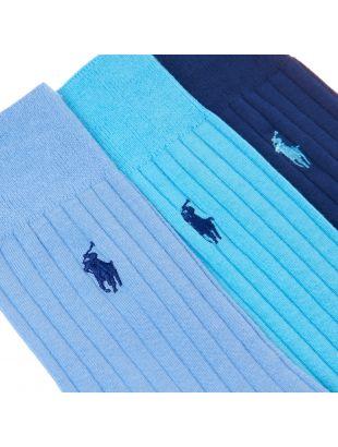 Socks - Blue/Blue/Navy