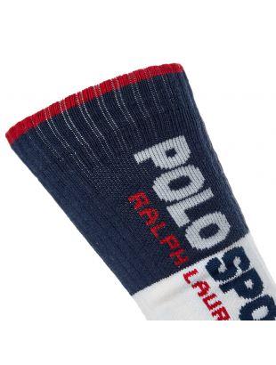 Socks - White / Navy