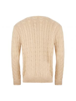 Cable Knit Sweater - Natural