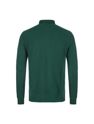 Long Sleeved Polo - Green