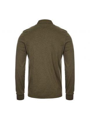 Long Sleeve Polo Shirt - Green