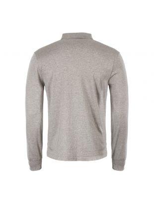 Long Sleeve Polo Shirt - Grey