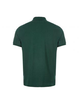 Polo Shirt Bear Logo - Dark Green