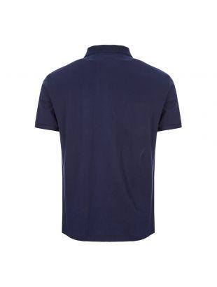 Polo Shirt Bear Logo - Navy