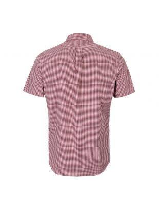Short Sleeve Shirt - Red / White
