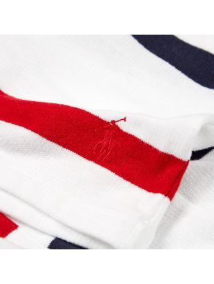 Shorts - White / Navy / Red