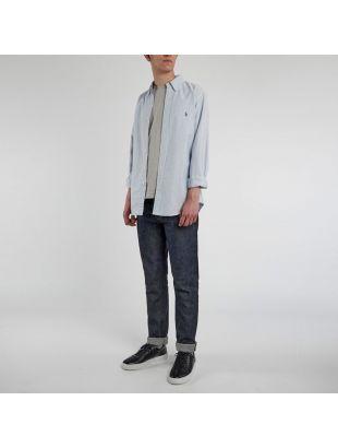 Oxford Shirt Striped - Blue