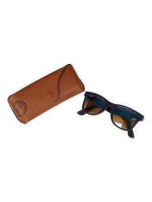 Wayfarer Sunglasses - Blue Mirrored