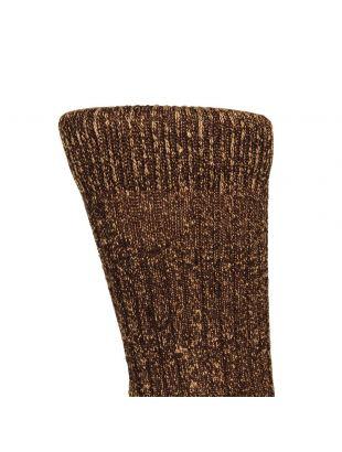 Wool Socks - Brown