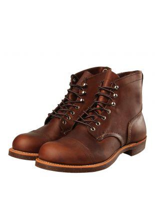 Iron Ranger Boots - Amber Harness