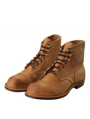 Iron Ranger Boots - Tan Roughout