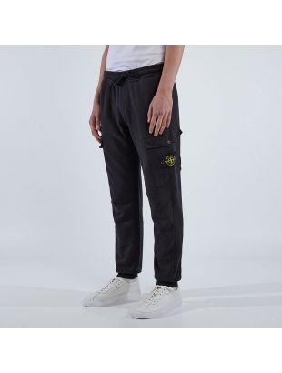 Cargo Sweat Pants - Black