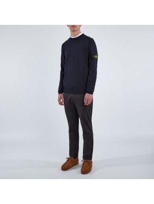 Knitted Sweatshirt - Dark Navy