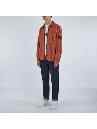 Zip Overshirt - Rust