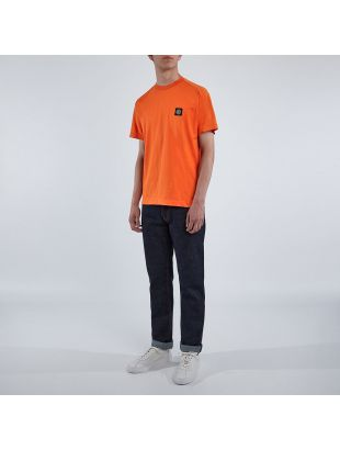 T-Shirt Patch Logo - Orange