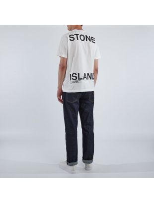 T-Shirt Large Script – White