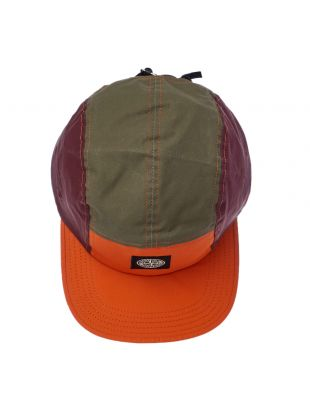 Cap – Olive / Orange / Burgundy