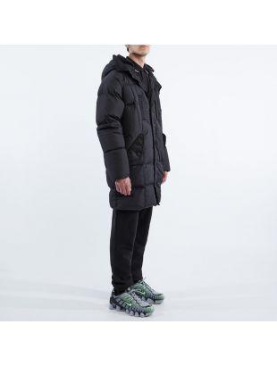 Crinkle Reps NY Down Jacket - Black