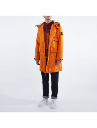David TC Jacket – Orange