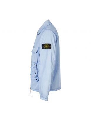 Jacket Tela Placcata - Blue