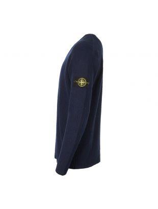 Knitted Sweatshirt - Navy