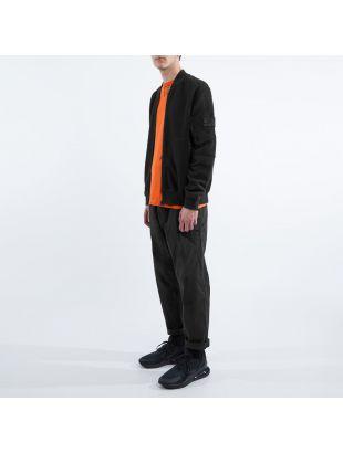 Bomber Jacket - Black Fleece