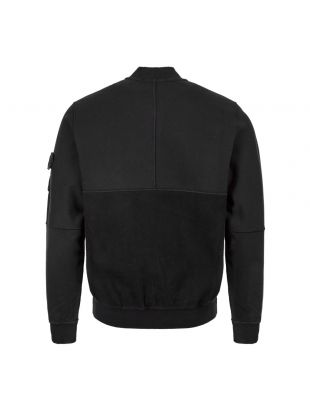 Bomber Jacket - Black Fleece