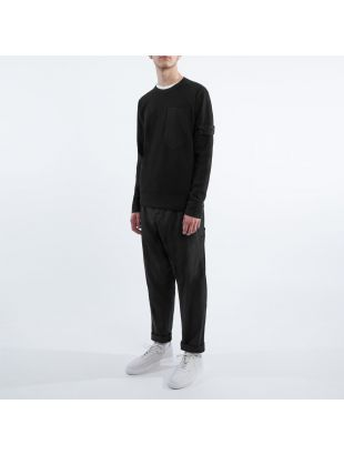 Knitted Sweatshirt - Black
