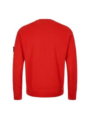 Knitted Sweatshirt - Red