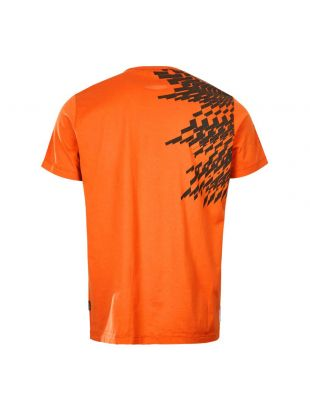 T-Shirt - Orange / Black