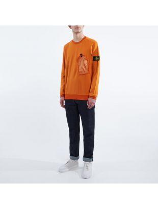 Sweatshirt Pocket - Orange