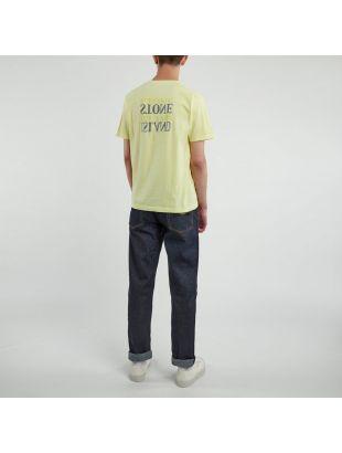 T-Shirt Logo Print - Yellow