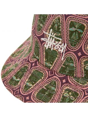 Bucket Hat - Pink / Green