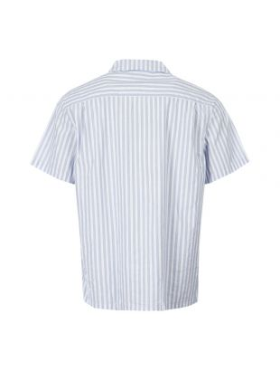 Short Sleeve Shirt - Blue Stripe