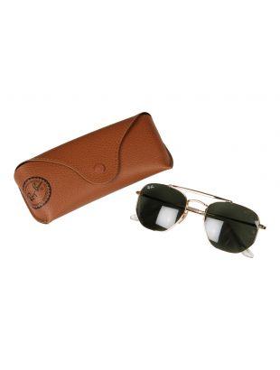 Sunglasses - Gold / Green