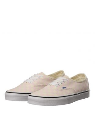 Authentic Sneakers - Checkerboard Chalk Pink