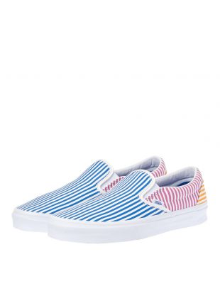 Slip On Trainers - Mix Stripe