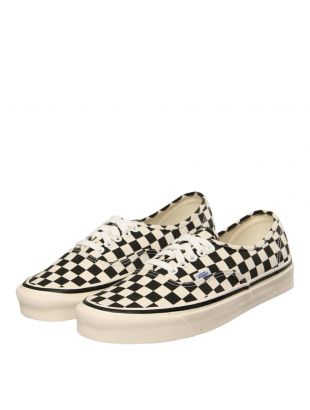 Authentic Trainers - Black/White Checkerboard