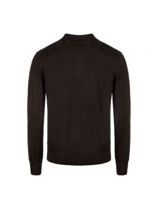 Knitted Polo Shirt - Black