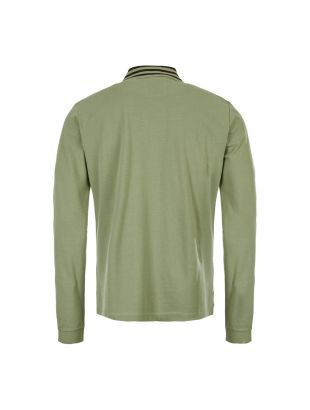 Long Sleeve Polo Shirt - Green