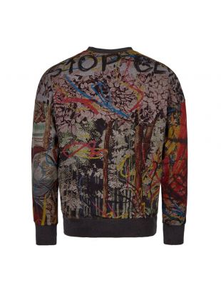 Sweatshirt Patterned - Grey