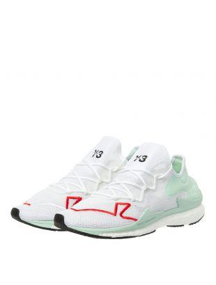 Adizero Runner Trainers - White/Green/Red