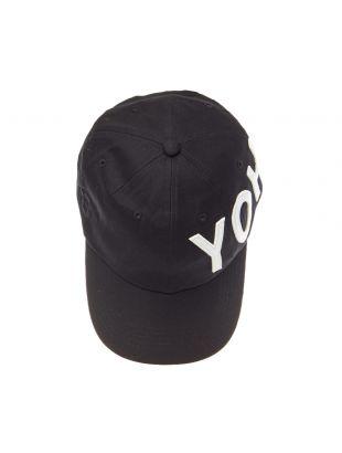 Cap Yohji Logo - Black