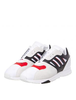 ZX Run Trainers - White/Black/Red