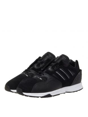 ZX Run Trainers - Black/White