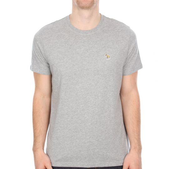 Paul Smith T Shirt Grey Zebra Logo 5501/450Z