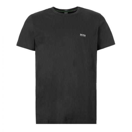 BOSS Athleisure T-Shirt Logo   50245195 001 Black